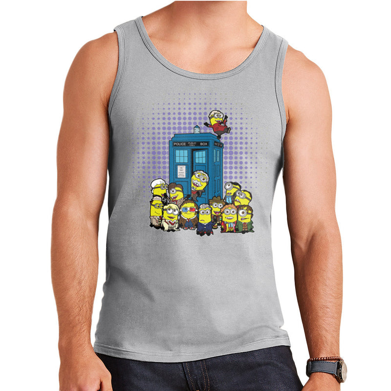 Doctor Who Minions in Time and Space Tardis Men's Vest Men's Vest Cloud City 7 - 4