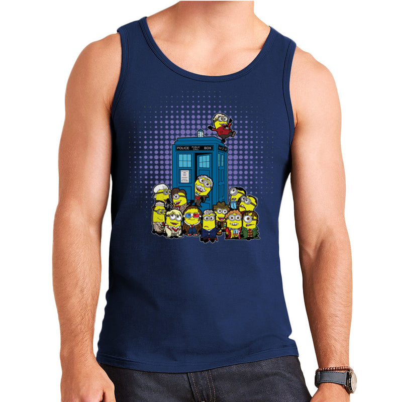 Doctor Who Minions in Time and Space Tardis Men's Vest Men's Vest Cloud City 7 - 6