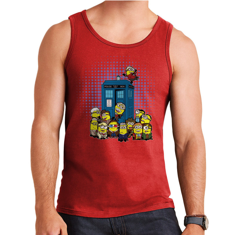 Doctor Who Minions in Time and Space Tardis Men's Vest Men's Vest Cloud City 7 - 7