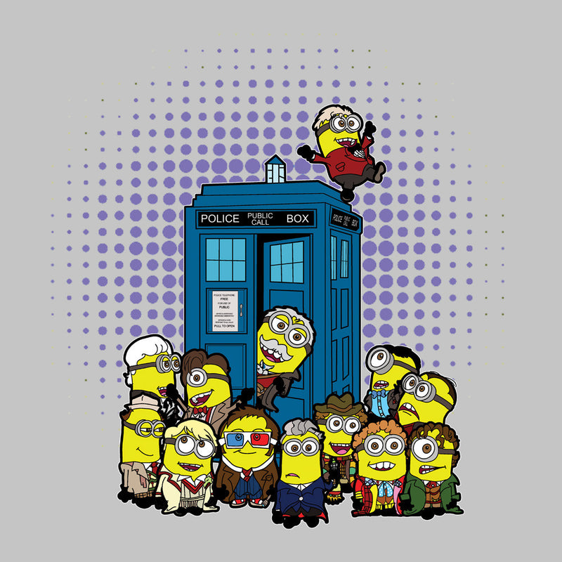 Doctor Who Minions in Time and Space Tardis Kid's T-Shirt Kid's Boy's T-Shirt Cloud City 7 - 3