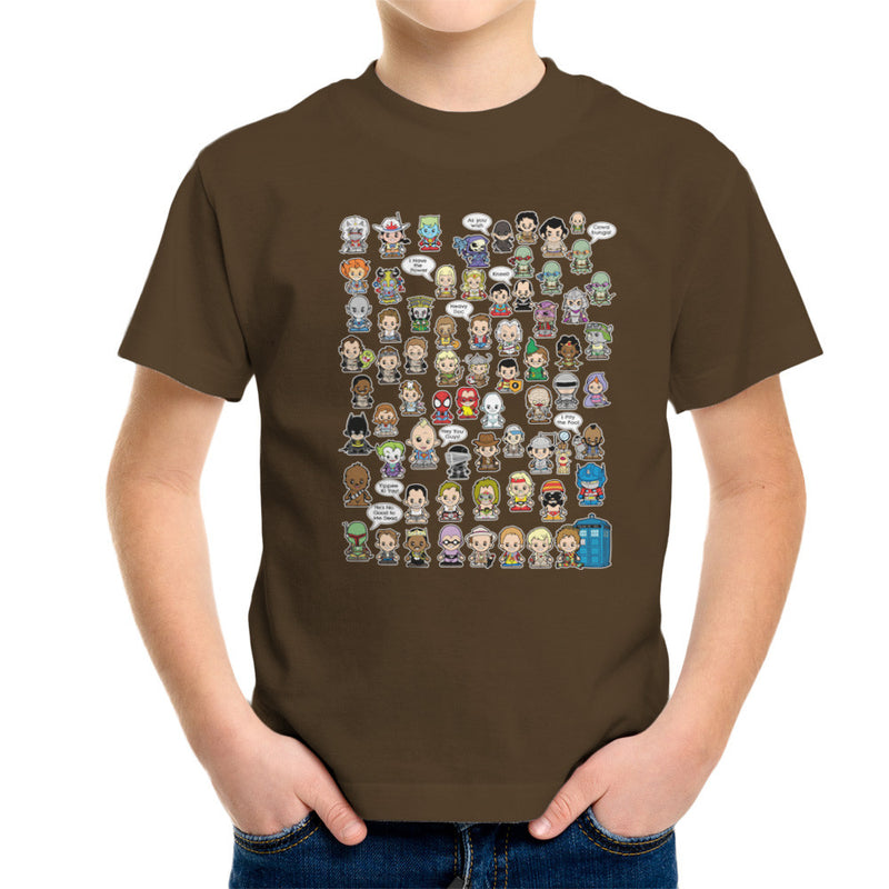 This is what I did in the Eighties Lil Characters Kid's T-Shirt Kid's Boy's T-Shirt Cloud City 7 - 12