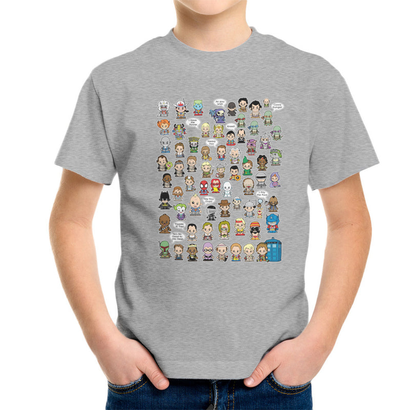 This is what I did in the Eighties Lil Characters Kid's T-Shirt Kid's Boy's T-Shirt Cloud City 7 - 5