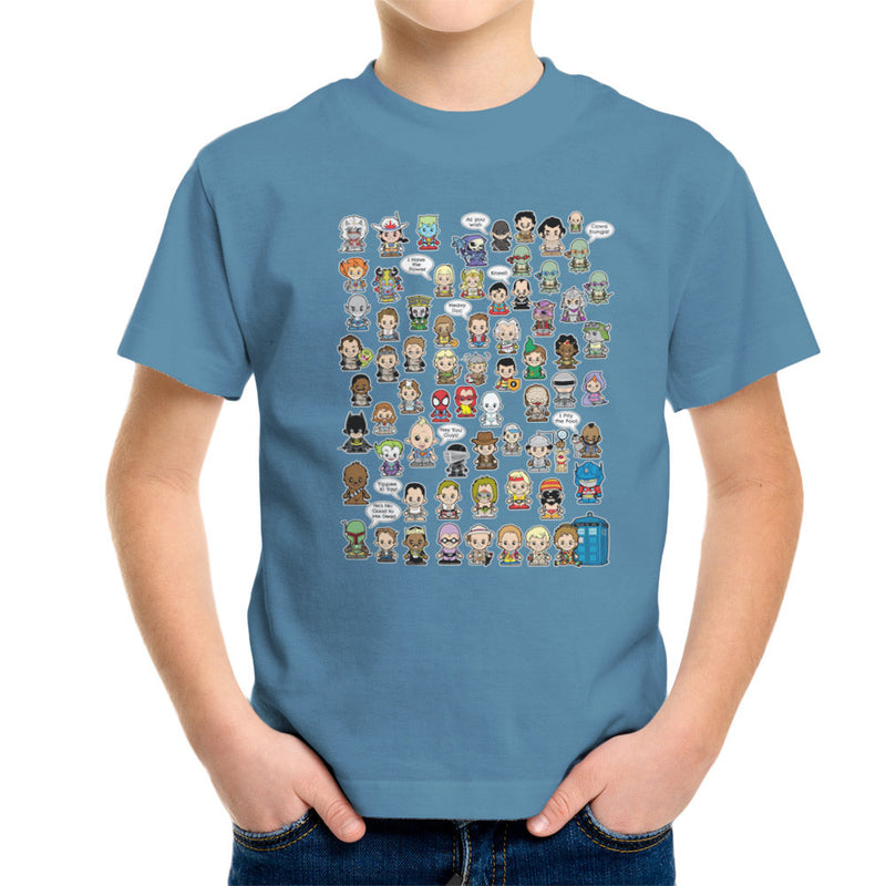 This is what I did in the Eighties Lil Characters Kid's T-Shirt Kid's Boy's T-Shirt Cloud City 7 - 9