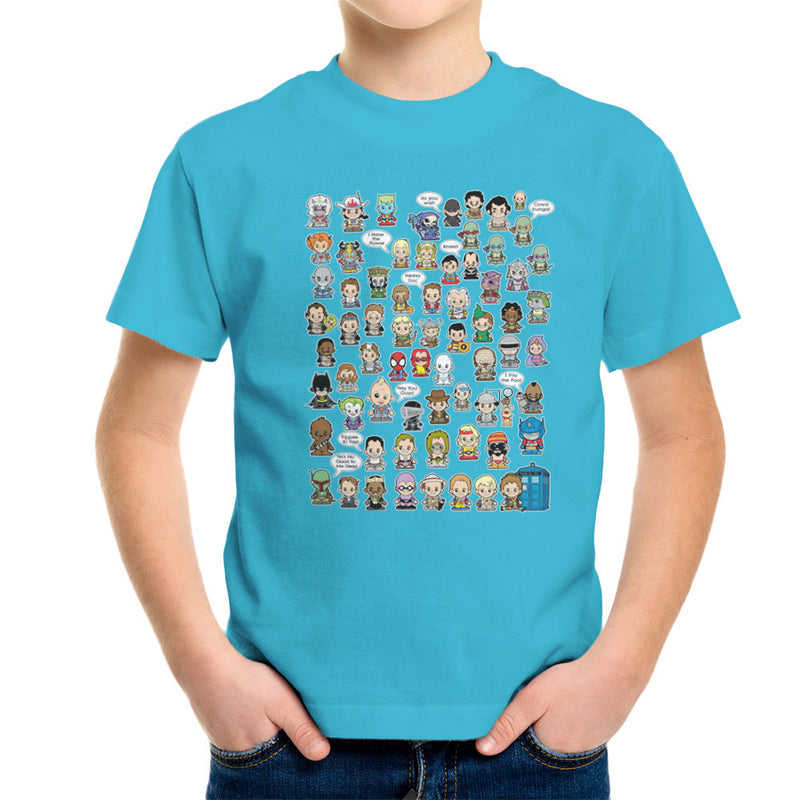 This is what I did in the Eighties Lil Characters Kid's T-Shirt Kid's Boy's T-Shirt Cloud City 7 - 10
