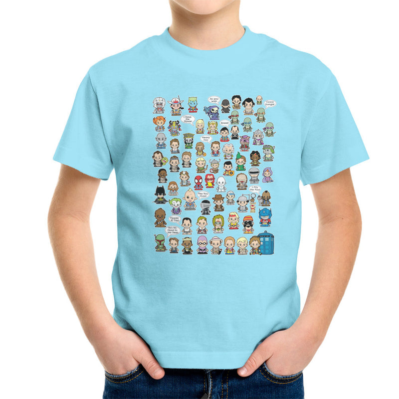 This is what I did in the Eighties Lil Characters Kid's T-Shirt Kid's Boy's T-Shirt Cloud City 7 - 11