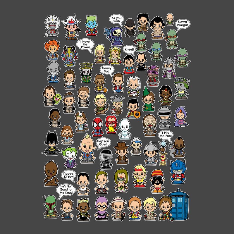 This is what I did in the Eighties Lil Characters by TopNotchy - Cloud City 7