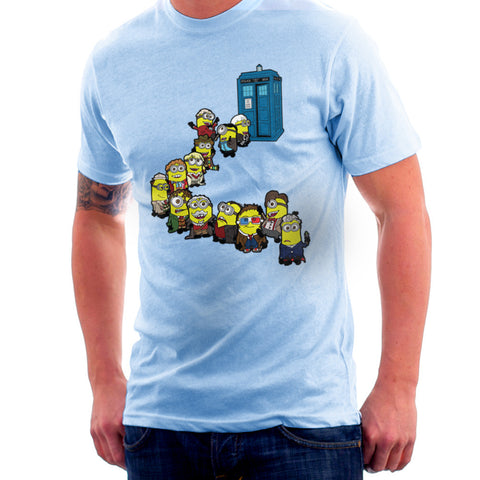 Doctor Who Minions Trouble in Time and Space Tardis