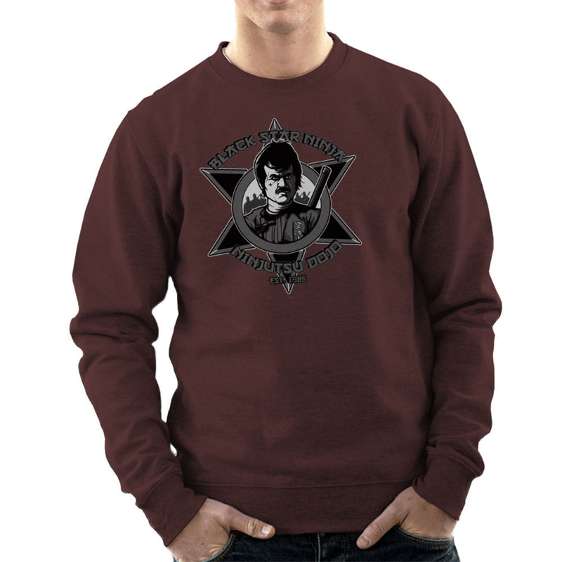 Black Star Ninja Ninjutsu Dojo American Ninja Men's Sweatshirt Men's Sweatshirt Cloud City 7 - 12