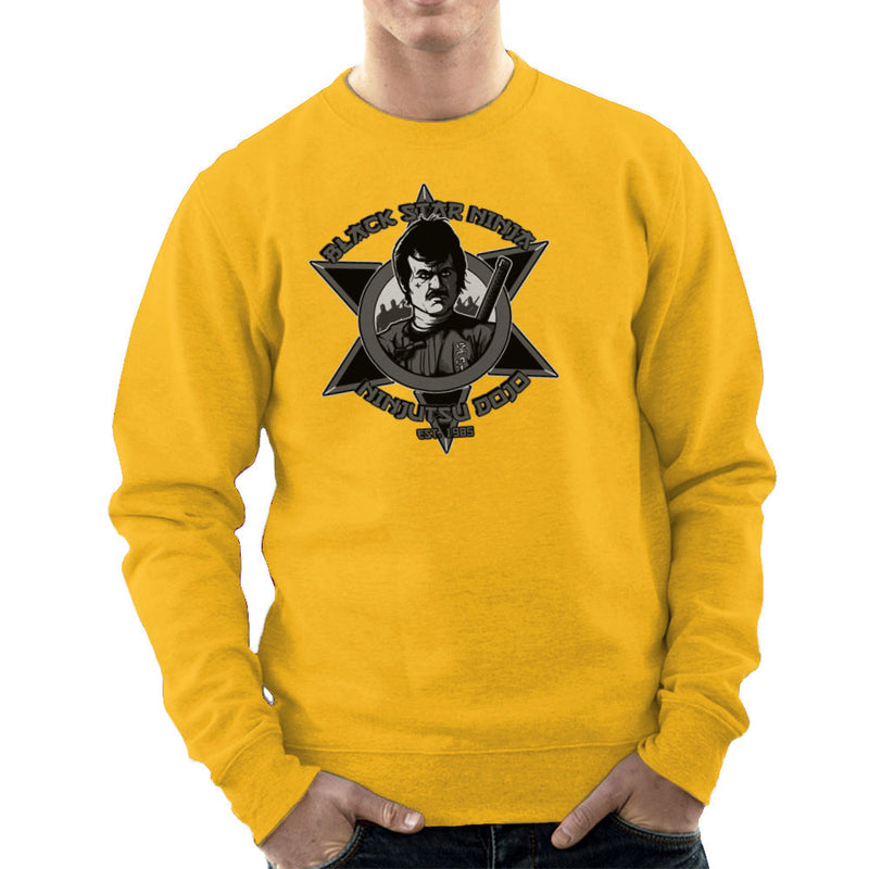 Black Star Ninja Ninjutsu Dojo American Ninja Men's Sweatshirt Men's Sweatshirt Cloud City 7 - 18