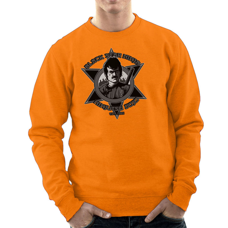 Black Star Ninja Ninjutsu Dojo American Ninja Men's Sweatshirt Men's Sweatshirt Cloud City 7 - 17