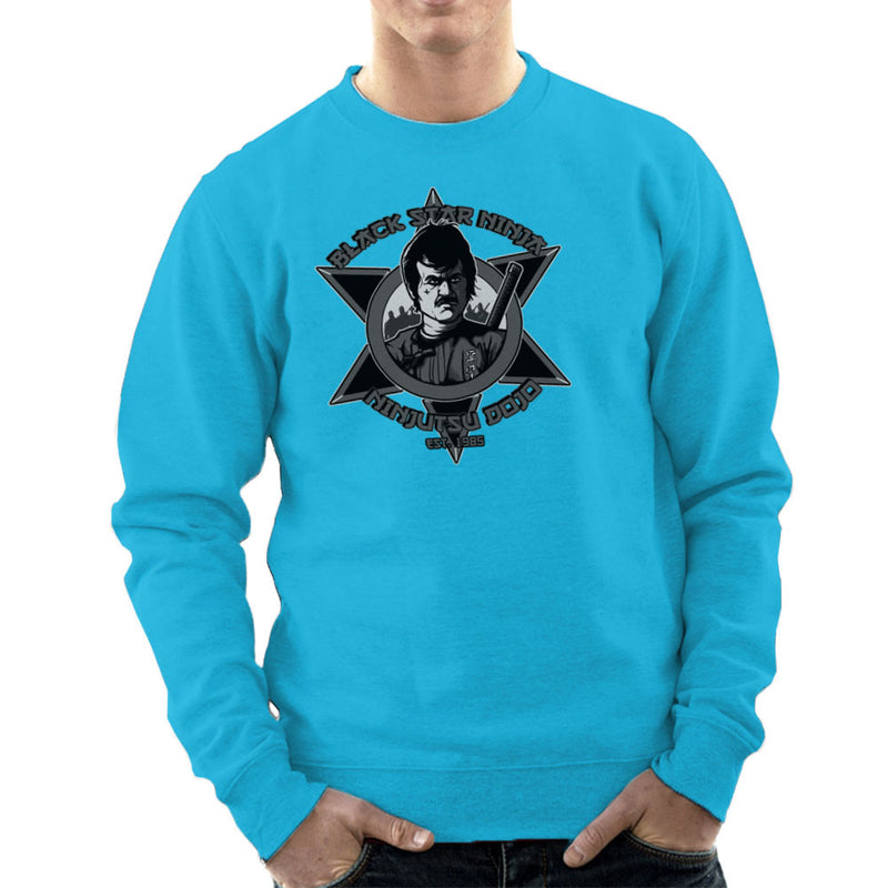 Black Star Ninja Ninjutsu Dojo American Ninja Men's Sweatshirt Men's Sweatshirt Cloud City 7 - 10
