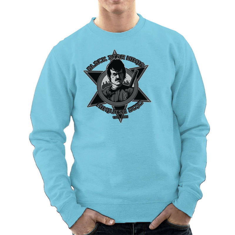 Black Star Ninja Ninjutsu Dojo American Ninja Men's Sweatshirt Men's Sweatshirt Cloud City 7 - 11