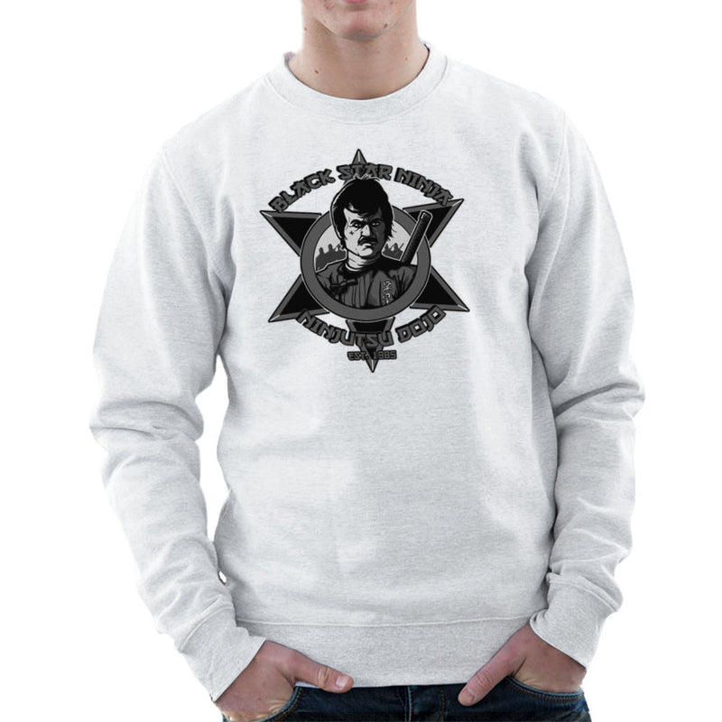 Black Star Ninja Ninjutsu Dojo American Ninja Men's Sweatshirt Men's Sweatshirt Cloud City 7 - 6