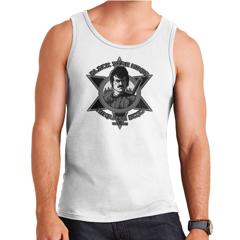 Black Star Ninja Ninjutsu Dojo American Ninja Men's Vest Men's Vest Cloud City 7 - 5
