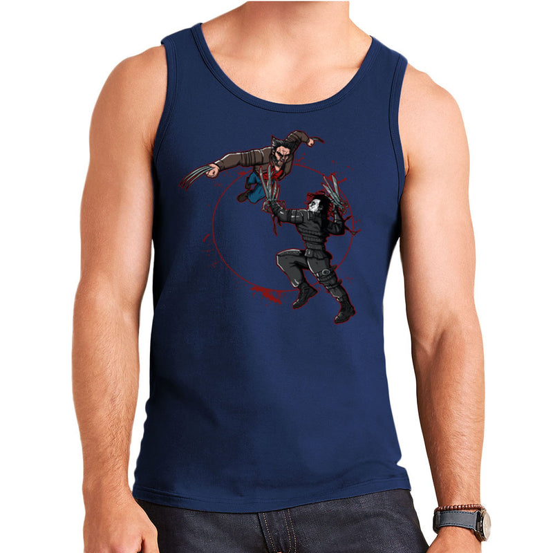 Blood Equinox Wolverine Vs Edward Scissorhands Men's Vest by AndreusD - Cloud City 7