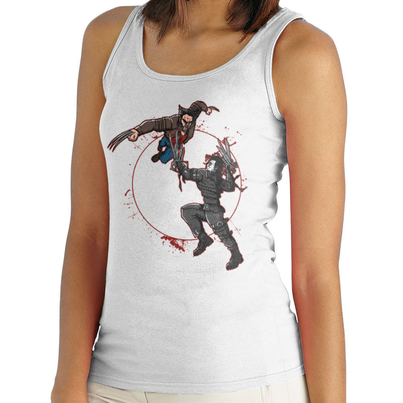 Blood Equinox Wolverine Vs Edward Scissorhands Women's Vest by AndreusD - Cloud City 7
