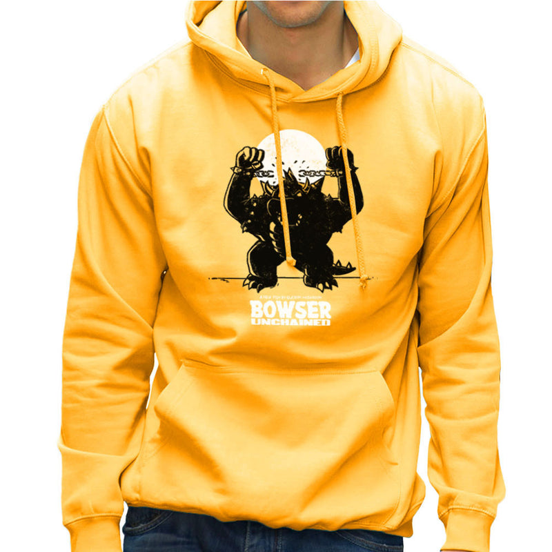 Bowser Unchained Super Mario Bros Men's Hooded Sweatshirt by AndreusD - Cloud City 7