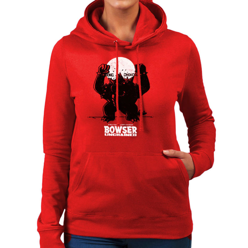 Bowser Unchained Super Mario Bros Women's Hooded Sweatshirt by AndreusD - Cloud City 7