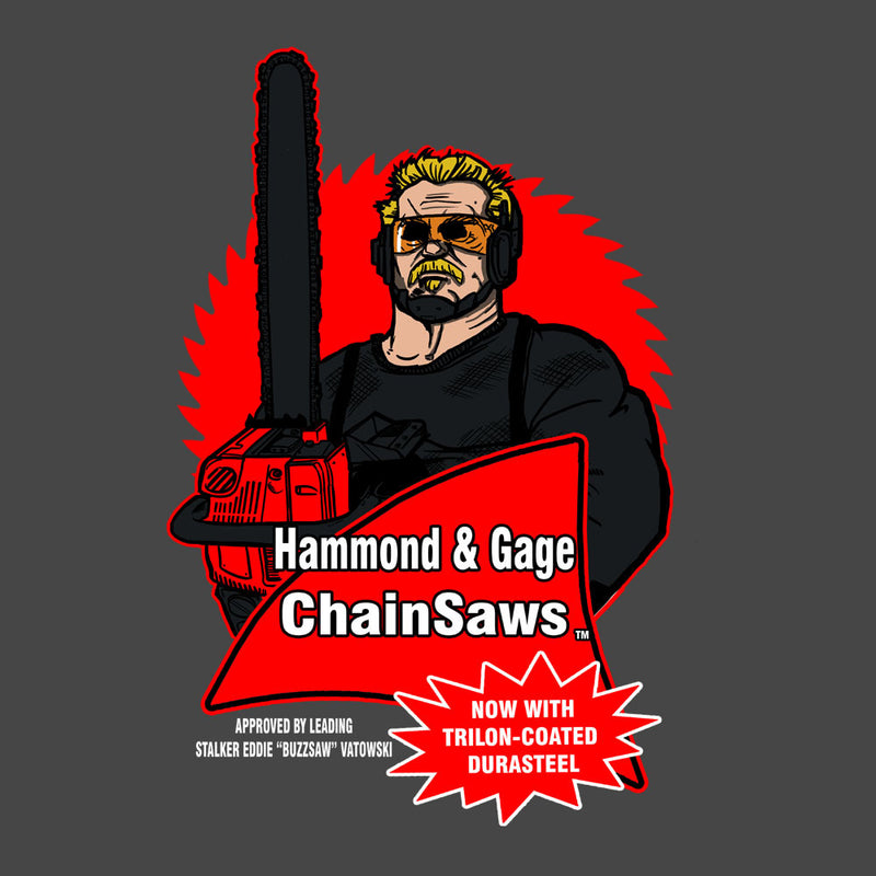Hammond and Gage Chainsaws Buzzsaw Running Man by AndreusD - Cloud City 7
