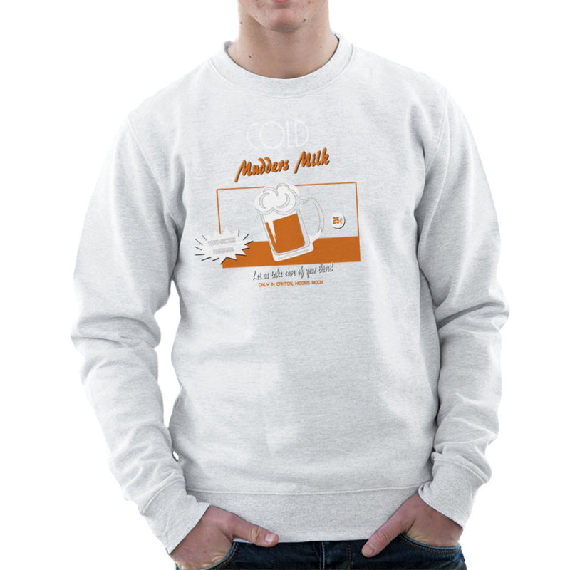 Mudders Milk Canton Higgins Moon Firefly Serenity Men's Sweatshirt by AndreusD - Cloud City 7
