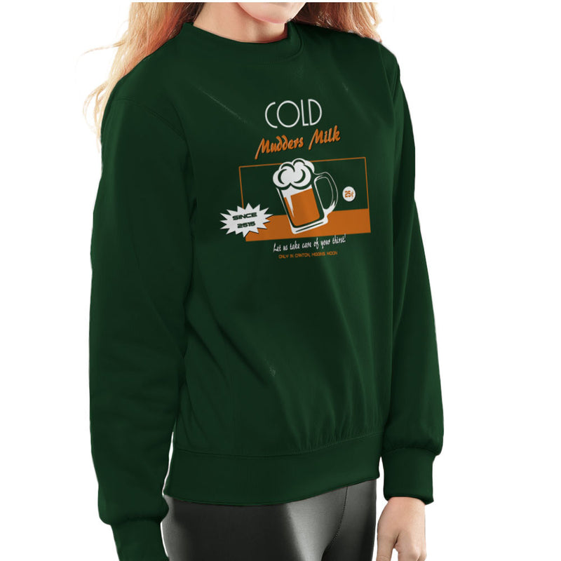 Mudders Milk Canton Higgins Moon Firefly Serenity Women's Sweatshirt by AndreusD - Cloud City 7