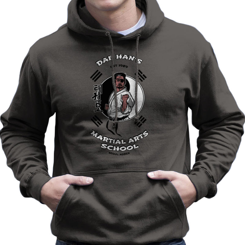 Dae Hans Martial Arts School Best of the Best Men's Hooded Sweatshirt by AndreusD - Cloud City 7