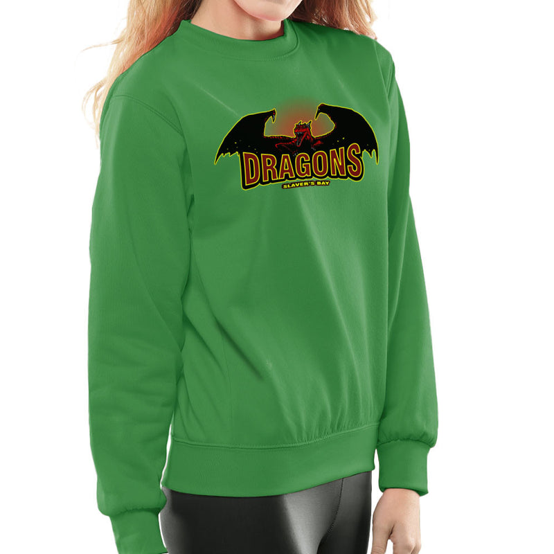 Slavers Bay Dragons Game of Thrones Daenerys Targaryen Women's Sweatshirt by AndreusD - Cloud City 7