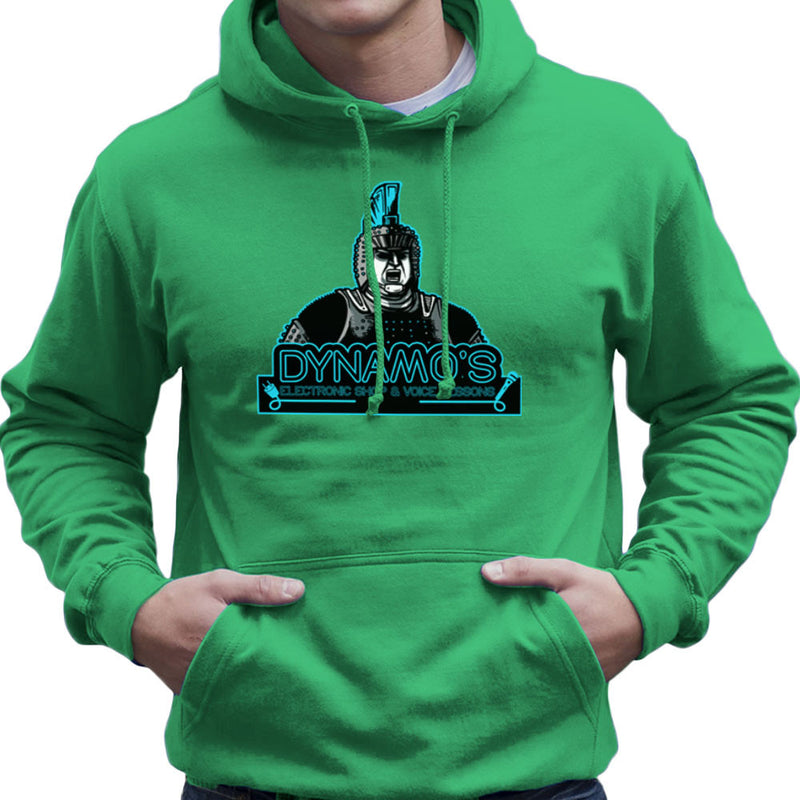 Dynamos Electronic Shop and Voice Lessons Running Man Men's Hooded Sweatshirt Men's Hooded Sweatshirt Cloud City 7 - 14