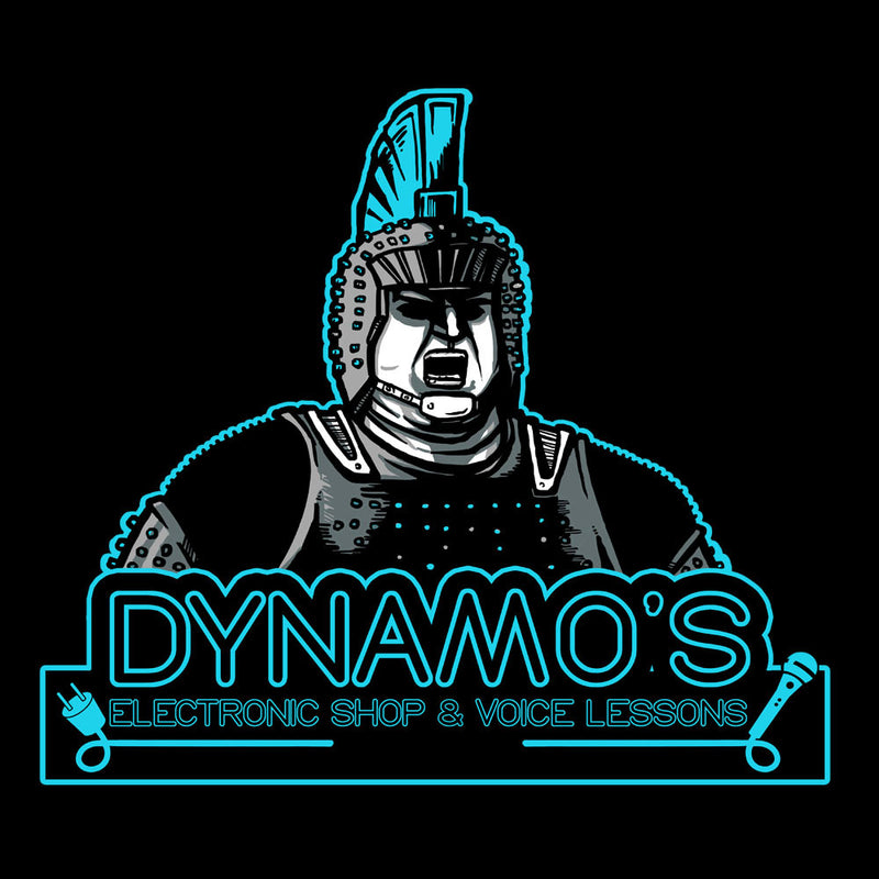 Dynamos Electronic Shop and Voice Lessons Running Man by AndreusD - Cloud City 7