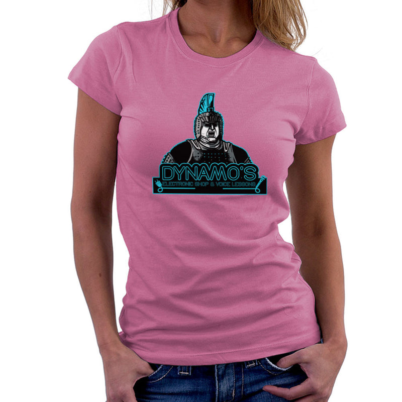 Dynamos Electronic Shop and Voice Lessons Running Man Women's T-Shirt Women's T-Shirt Cloud City 7 - 20