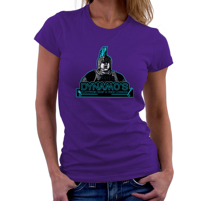 Dynamos Electronic Shop and Voice Lessons Running Man Women's T-Shirt Women's T-Shirt Cloud City 7 - 19