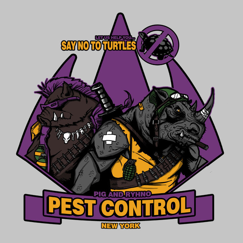 Pest Control Bebop and Rocksteady Teenage Mutant Ninja Turtles by AndreusD - Cloud City 7