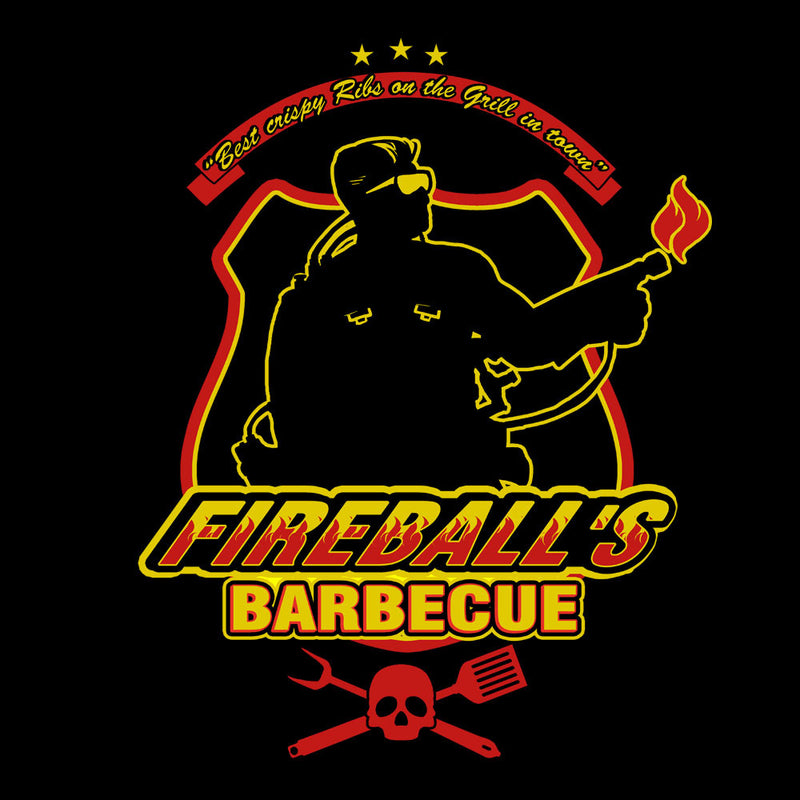 Fireballs BBQ Running Man by AndreusD - Cloud City 7