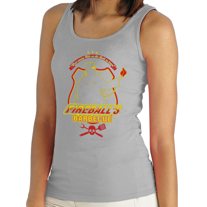 Fireballs BBQ Running Man Women's Vest Women's Vest Cloud City 7 - 4
