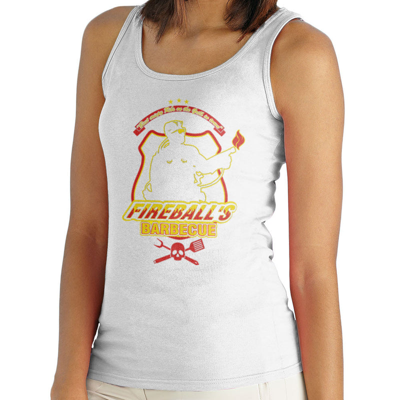 Fireballs BBQ Running Man Women's Vest Women's Vest Cloud City 7 - 5