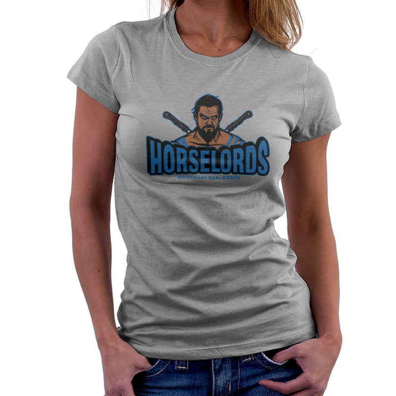 Horselords Dothraki Sea Essos Game of Thrones Khal Drogo Women's T-Shirt by AndreusD - Cloud City 7