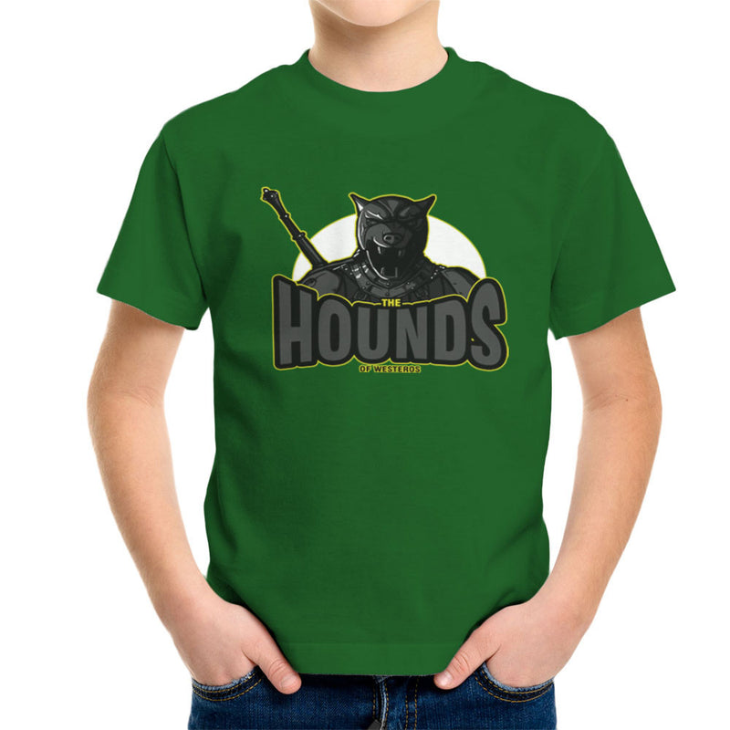 The Hounds of Westeros Sandor Clegane Game of Thrones Kid's T-Shirt Kid's Boy's T-Shirt Cloud City 7 - 13