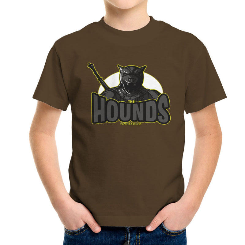 The Hounds of Westeros Sandor Clegane Game of Thrones Kid's T-Shirt Kid's Boy's T-Shirt Cloud City 7 - 12