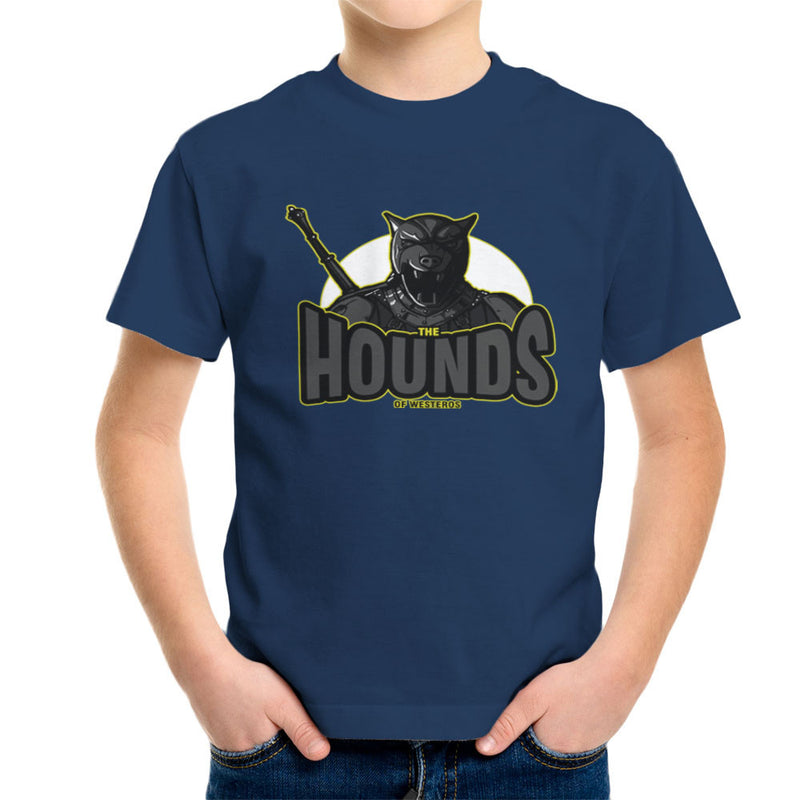 The Hounds of Westeros Sandor Clegane Game of Thrones Kid's T-Shirt Kid's Boy's T-Shirt Cloud City 7 - 7