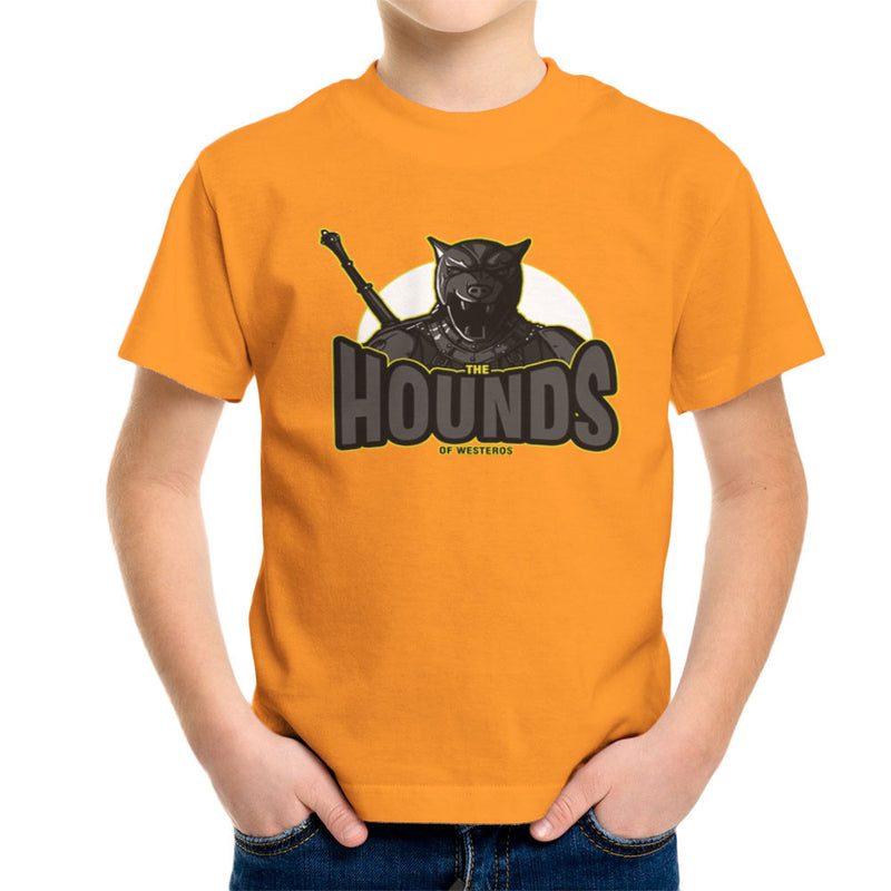 The Hounds of Westeros Sandor Clegane Game of Thrones Kid's T-Shirt Kid's Boy's T-Shirt Cloud City 7 - 16