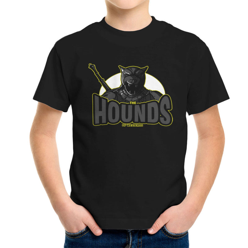 The Hounds of Westeros Sandor Clegane Game of Thrones Kid's T-Shirt by AndreusD - Cloud City 7