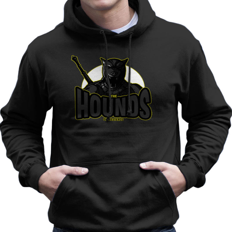 The Hounds of Westeros Sandor Clegane Game of Thrones Men's Hooded Sweatshirt by AndreusD - Cloud City 7