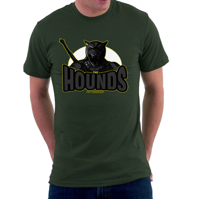 The Hounds of Westeros Sandor Clegane Game of Thrones Men's T-Shirt Men's T-Shirt Cloud City 7 - 13