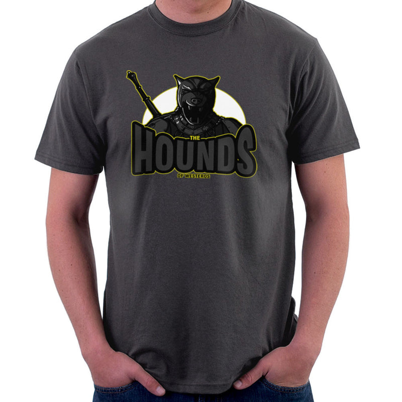 The Hounds of Westeros Sandor Clegane Game of Thrones Men's T-Shirt Men's T-Shirt Cloud City 7 - 4