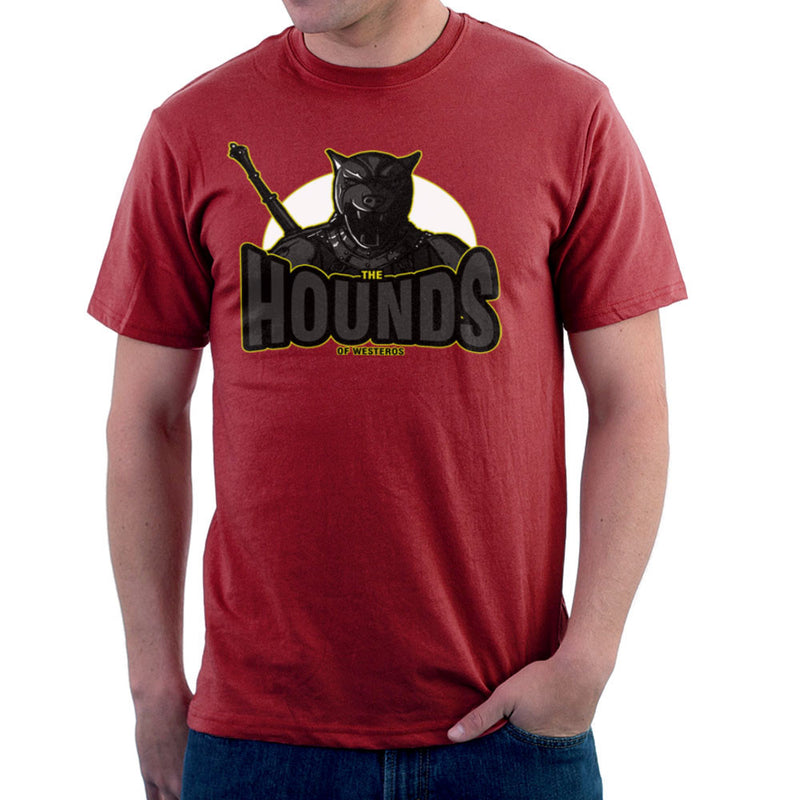 The Hounds of Westeros Sandor Clegane Game of Thrones Men's T-Shirt Men's T-Shirt Cloud City 7 - 15