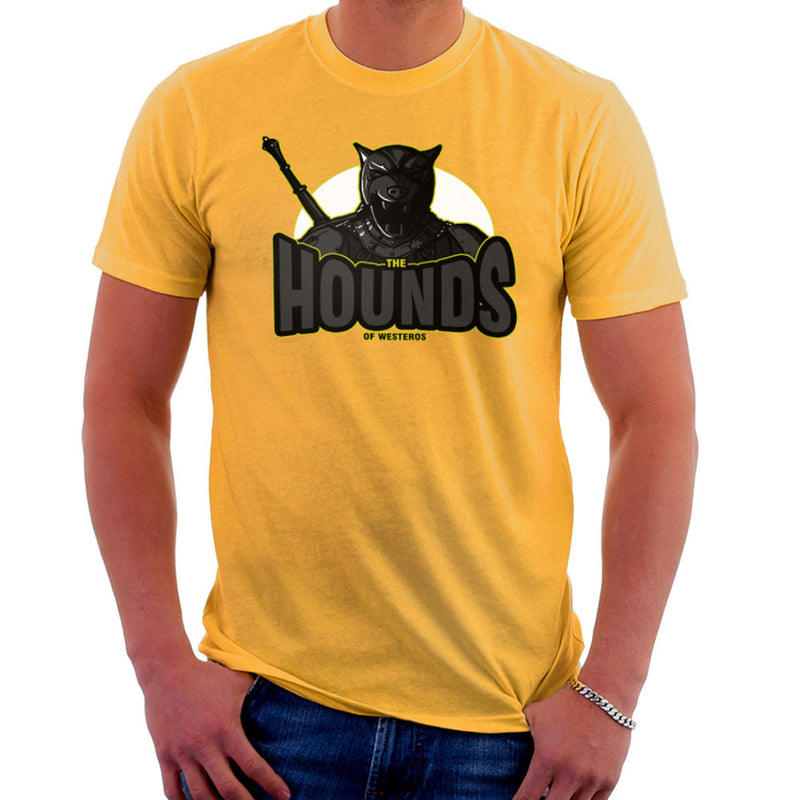 The Hounds of Westeros Sandor Clegane Game of Thrones Men's T-Shirt Men's T-Shirt Cloud City 7 - 18