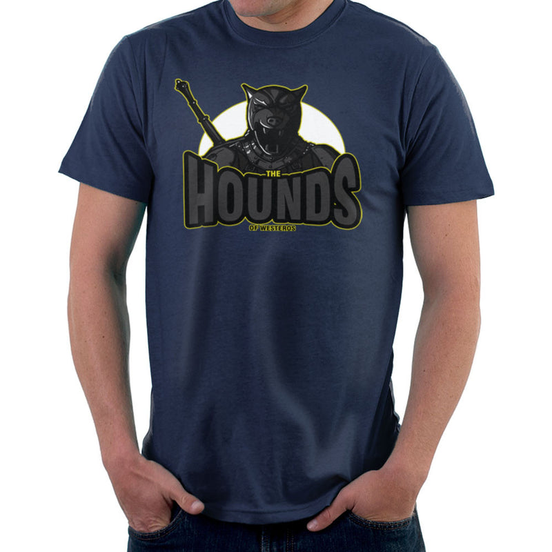 The Hounds of Westeros Sandor Clegane Game of Thrones Men's T-Shirt Men's T-Shirt Cloud City 7 - 7