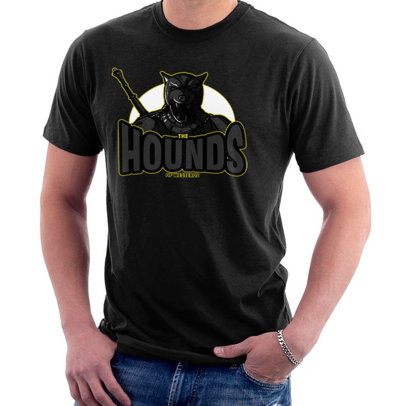 The Hounds of Westeros Sandor Clegane Game of Thrones Men's T-Shirt Men's T-Shirt Cloud City 7 - 1