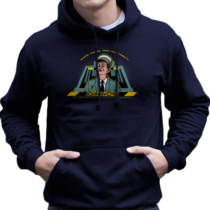 Johnny Cab Total Recall Men's Hooded Sweatshirt by AndreusD - Cloud City 7