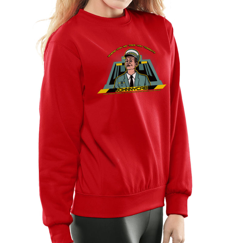 Johnny Cab Total Recall Women's Sweatshirt by AndreusD - Cloud City 7